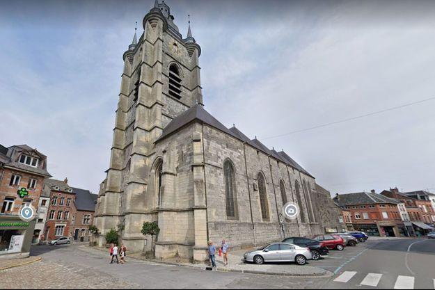 La collégiale Saint-Nicolas d'Avesnes-sur-Helpe, dans le Nord.