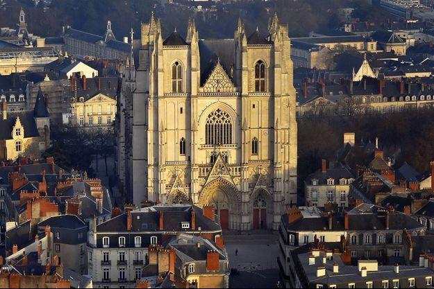 Un incendie s'est déclaré à l'intérieur de la cathédrale de Nantes (image d'illustration).