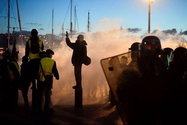 Une manifestation à Marseille, en janvier dernier (image d'illustration).