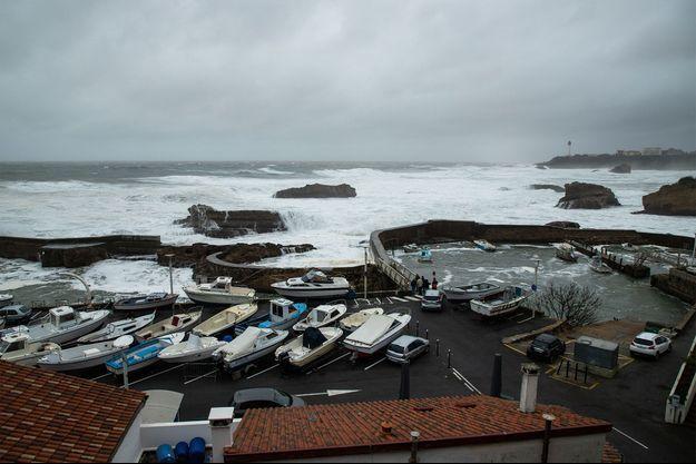 Le port de Biarritz