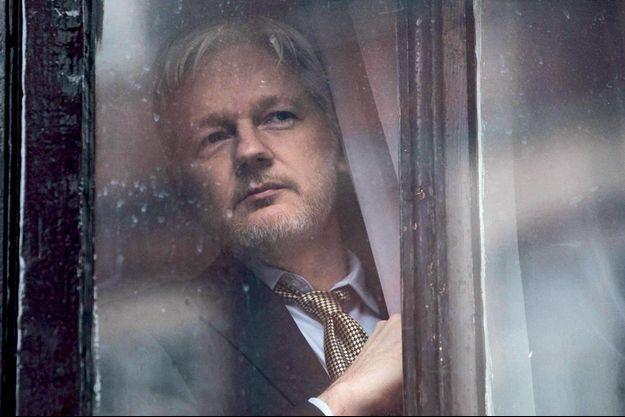 Julian Assange, à Londres, le 16 février 2016