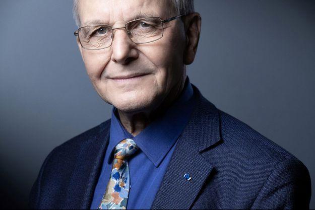 Axel Kahn, en mars dernier.