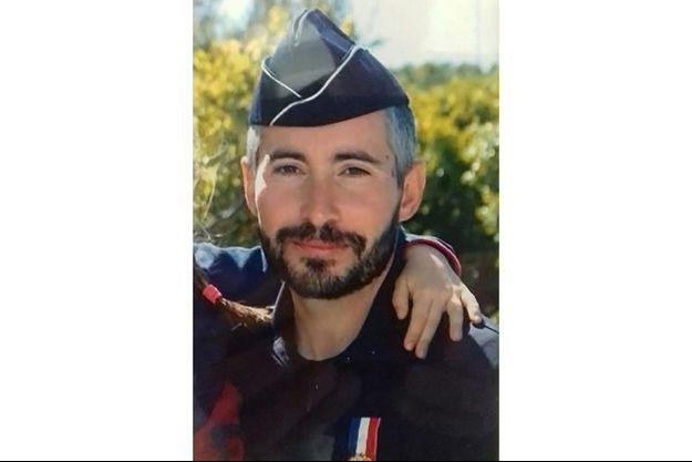 Éric Masson, le policier tué à Avignon mercredi 5 mai 2021.
