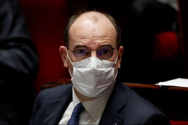 Jean Castex à l'Assemblée nationale le 26 janvier.