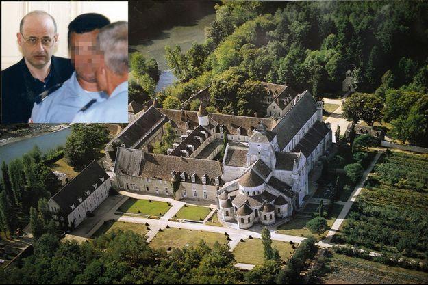 L'abbaye de Fontgombault (Indre), sur la rive droite de la Creuse, où Jean-Claude Romand a été admis après sa libération, le 28 juin.