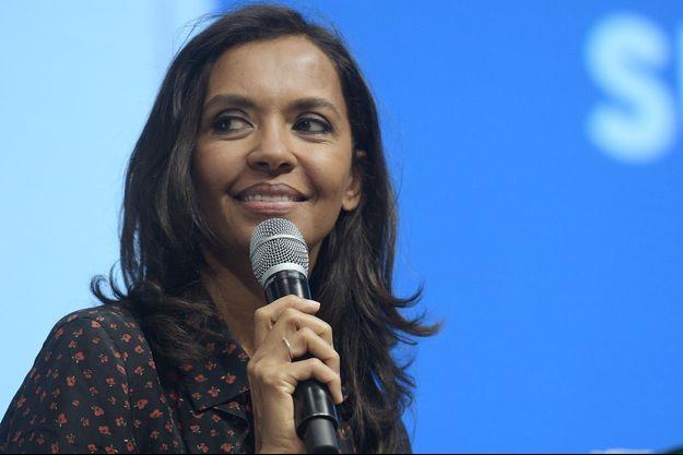 Karine Lemarchand lors du lancement du débat national sur l'agriculture, dimanche 23 février, à Paris.