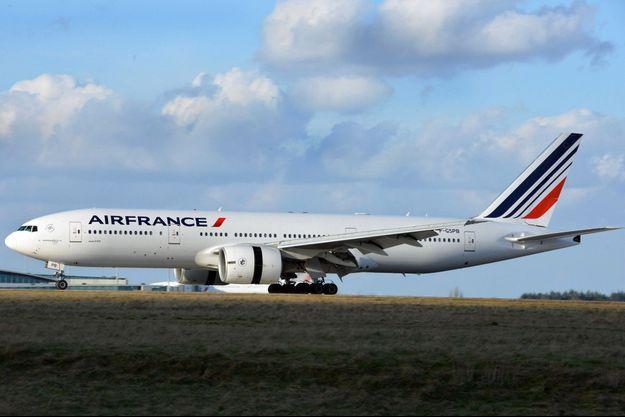 Un Boeing 777 d'Air France (illustration).