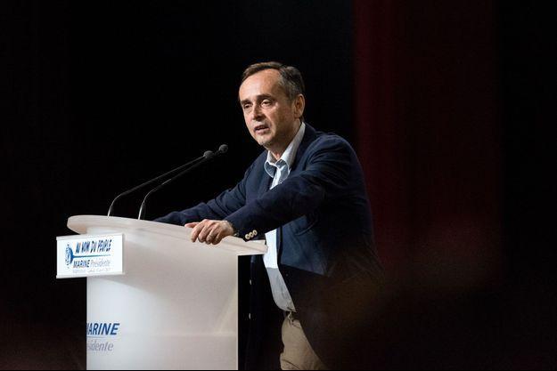 Robert Ménard à Perpignan en avril 2017