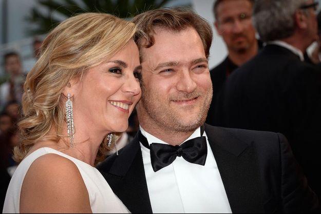 Laurence Ferrari et Renaud Capuçon au festival de Cannes en mai le 15 mai 2015.