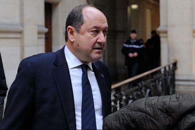 """Bernard Squarcini en février 2014 lors du procès des fadettes des journalistes du """"Monde""""."""