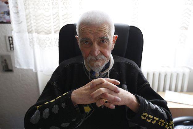 Christian Didier, jeudi 16 avril, dans son appartement de Saint-Dié-des-Vosges. Il s'est éteint le 14 mai dernier.