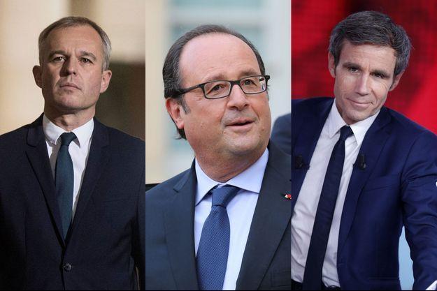 François de Rugy, François Hollande et David Pujadas figurent parmi les seize hommes engagés