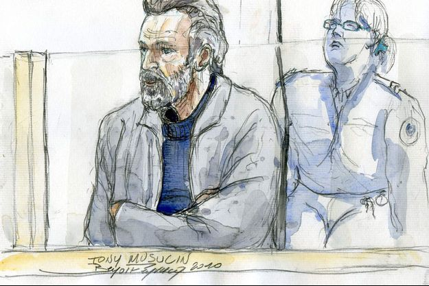 Toni Musulin en 2010 lors de son procès.