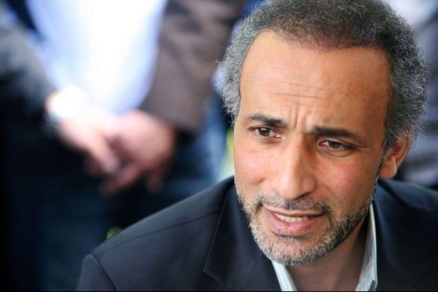 L'islamologue suisse Tariq Ramadan, ici en 2010 à Nantes.