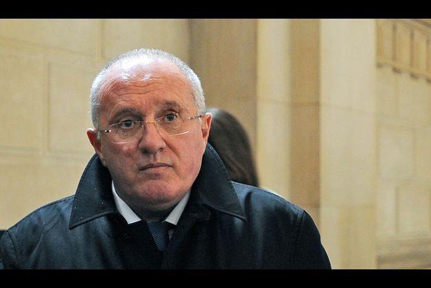 Antoine Sollacaro, à la cour d'Appel de Paris, en mars 2009.