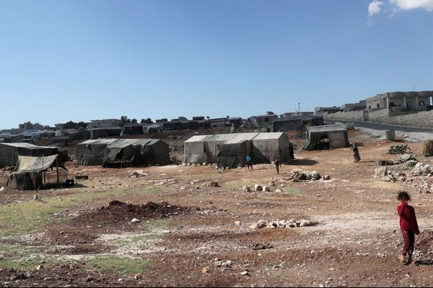 Le camp d'Atmeh, près de la frontière turque, en Syrie, le 13 juin 2020. Photo d'illustration.