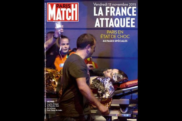 La couverture du numéro 3470 de Paris Match