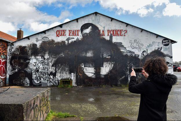 La fresque en hommage à Steve Caniço a été vandalisée le 18 février 2020.