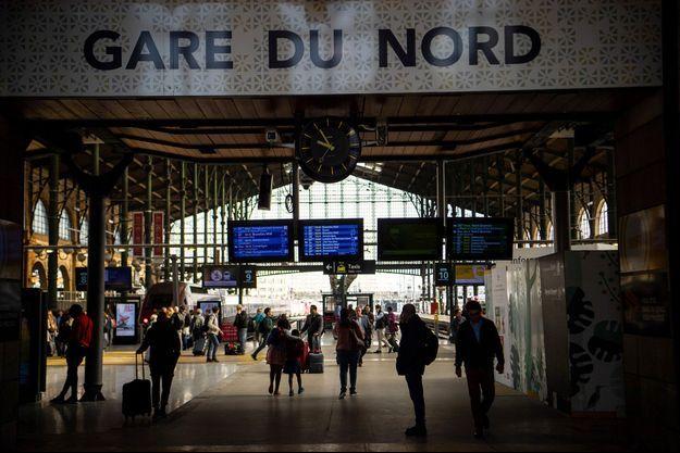 La gare du Nord.