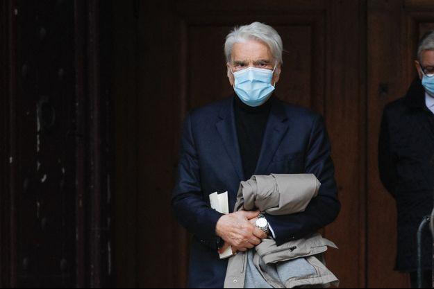 Bernard Tapie au tribunal en octobre 2020.