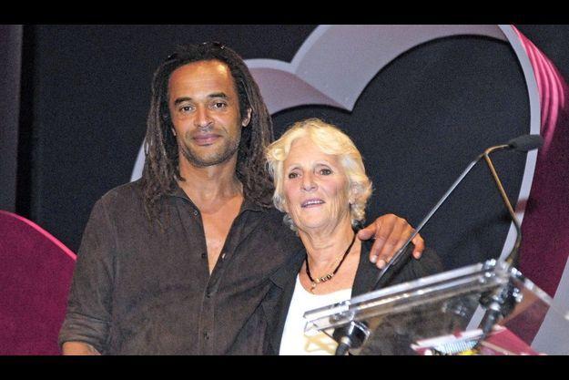 Yannick et Marie-Claire Noah en mai 2006.