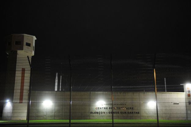La prison d'Alençon.