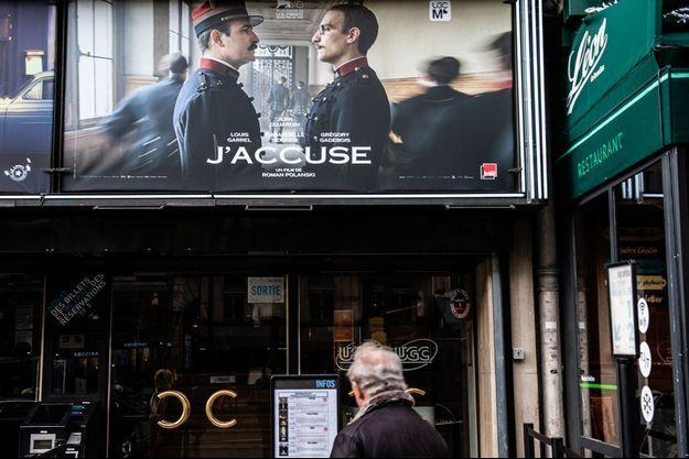 L'affiche du film, ici dans un cinéma à Paris.