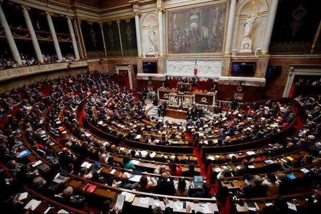 L'Assemblée nationale. Image d'illustration.