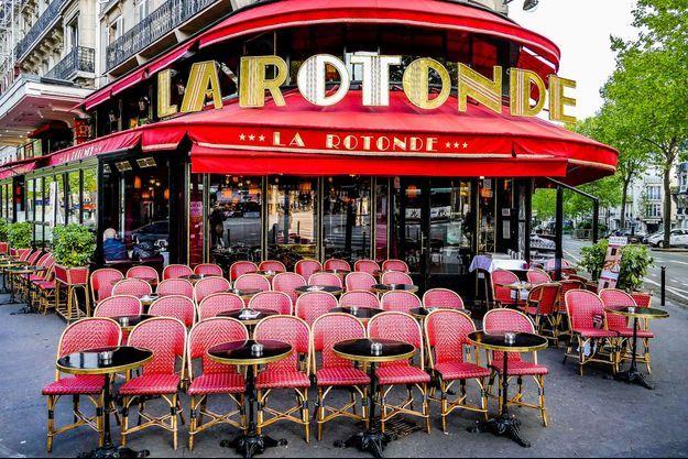 La Rotonde, en plein coeur de Paris.