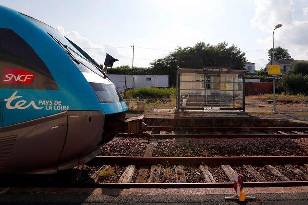 Illustration d'un TER de la SNCF.