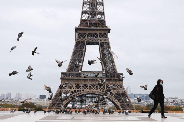La Tour Eiffel, ici fin octobre.