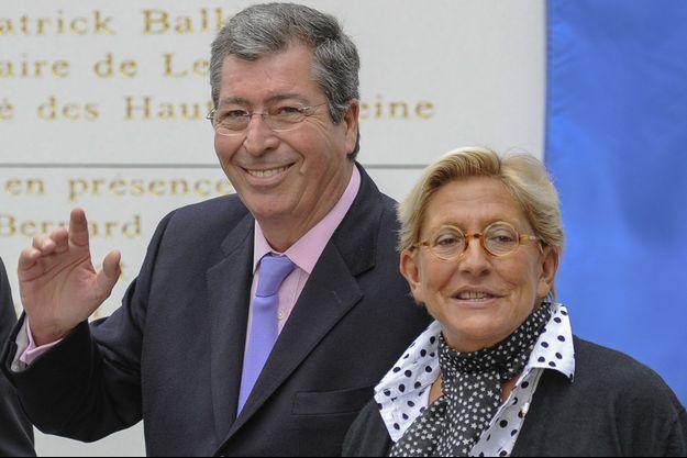 Patrick et Isabelle Balkany, photographiés en septembre 2013.