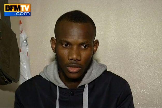 Lassana, l'employé du supermarché qui a aidé des otages à se cacher vendredi.
