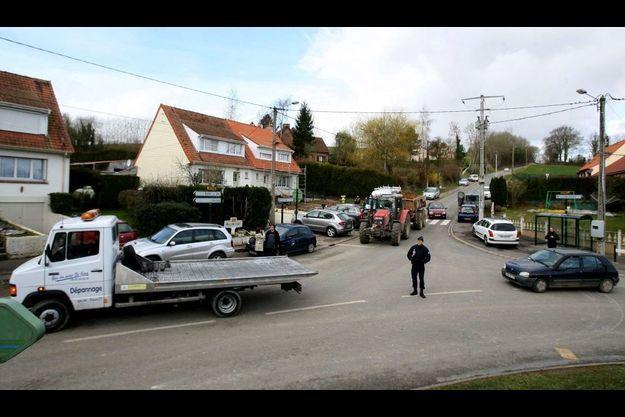 Les suspects ont été arrêtés au gite Le Châlet, à Willencourt