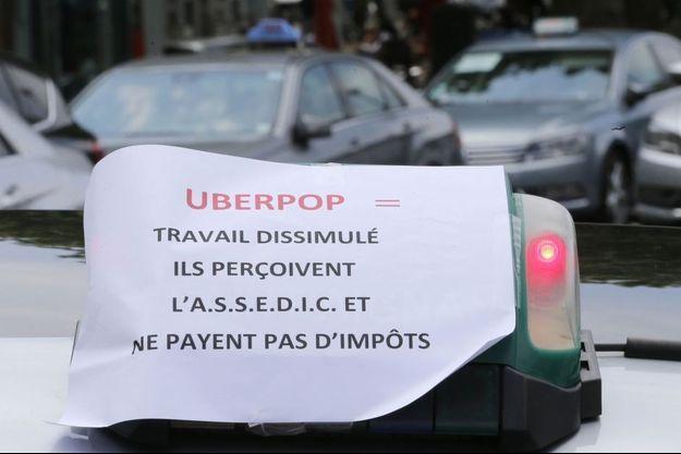 Ce service a provoqué la colère des taxis.
