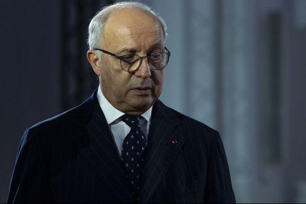 Laurent Fabius, ici en novembre 2019, au Palais de la Découverte, à Paris.
