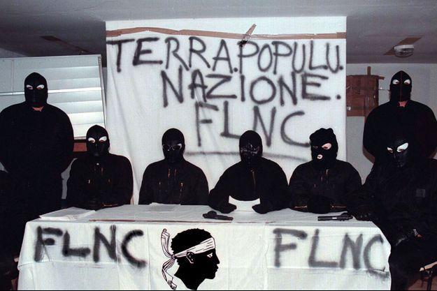 Le FLNC en 1997.