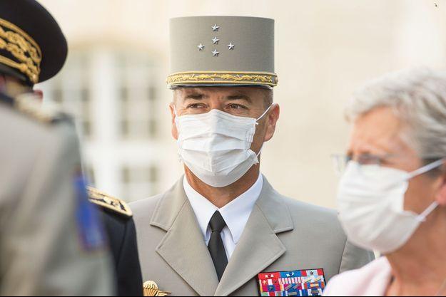 Le général Thierry Burkhard