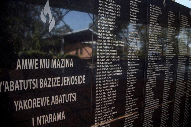 Liste des personnes tuées pendant le génocide au Rwanda.