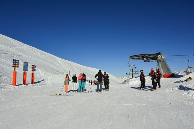 Une station de ski dans les Alpes (image d'illustration).