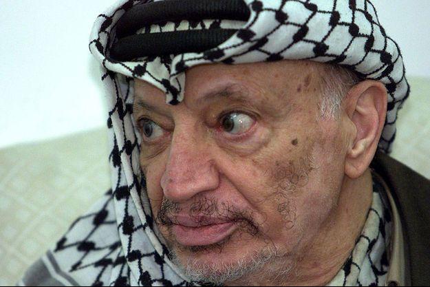 Yasser Arafat en 2002.