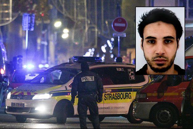 l'auteur présumé de l'attentat de Strasbourg, Cherif Chekatt