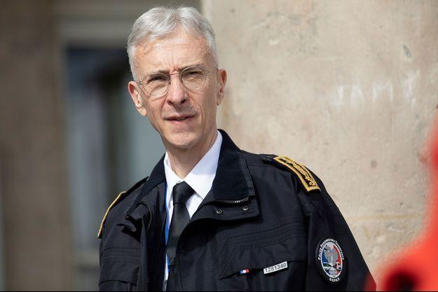 Le préfet de police de Paris Didier Lallement, ici dans la capitale le 10 mai.