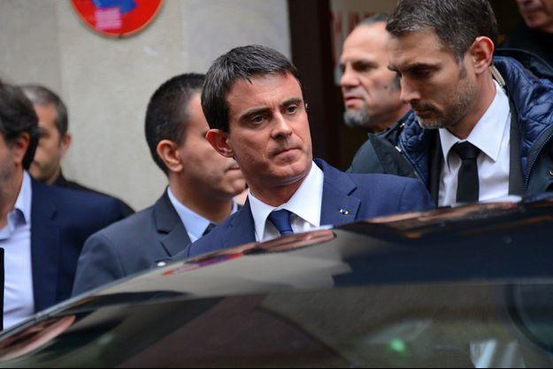 Le premier ministre Manuel Valls, le 9 janvier 2015