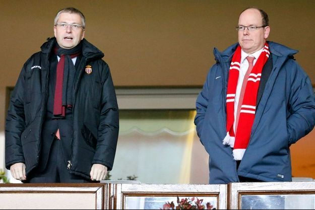 Dmitri Rybolovlev et le prince Albert II de Monaco.