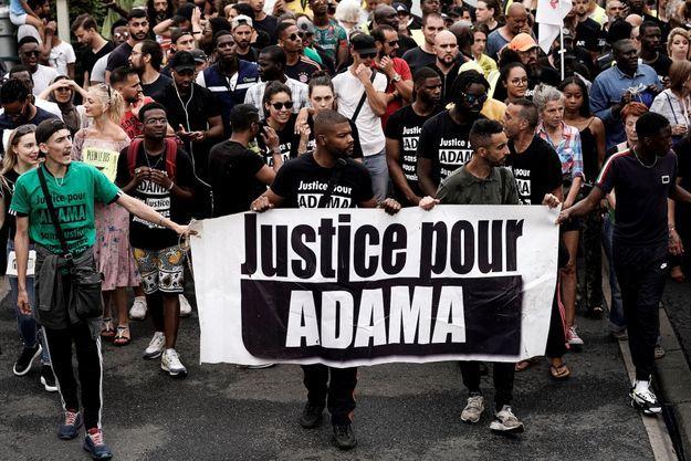 Manifestation en juillet 2019.