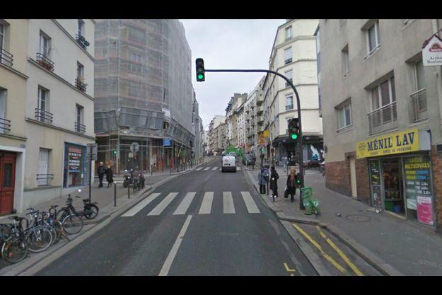 Le meurtre a eu lieu dans cette rue parisienne, le 30 juin.
