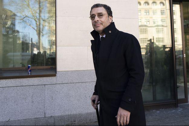 Alexandre Djouhri à Londres le 26 février 2019.