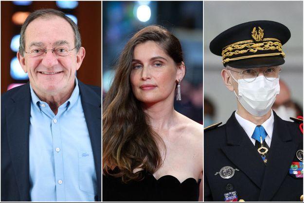 Laeticia Casta, Jean-Pierre Pernaut et Didier Lallement vont être distingués.