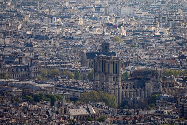 Notre-Dame de Paris, le 18 avril 2019.